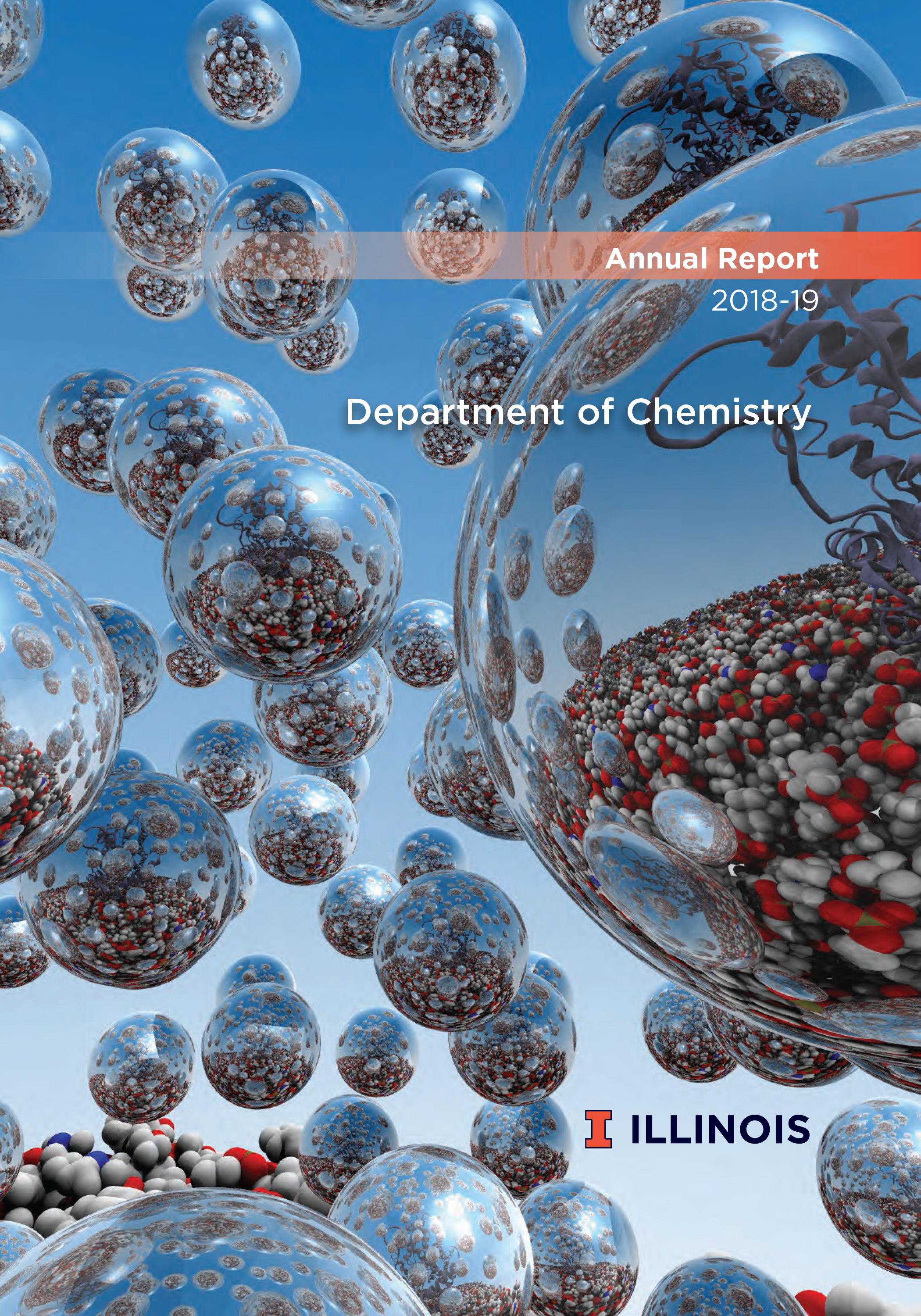 2018-19 Chemistry Annual Report cover