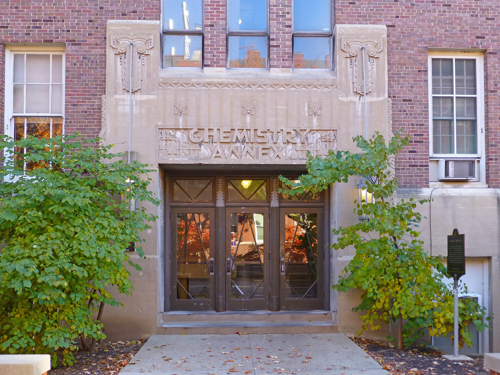 Chemistry annex entrance