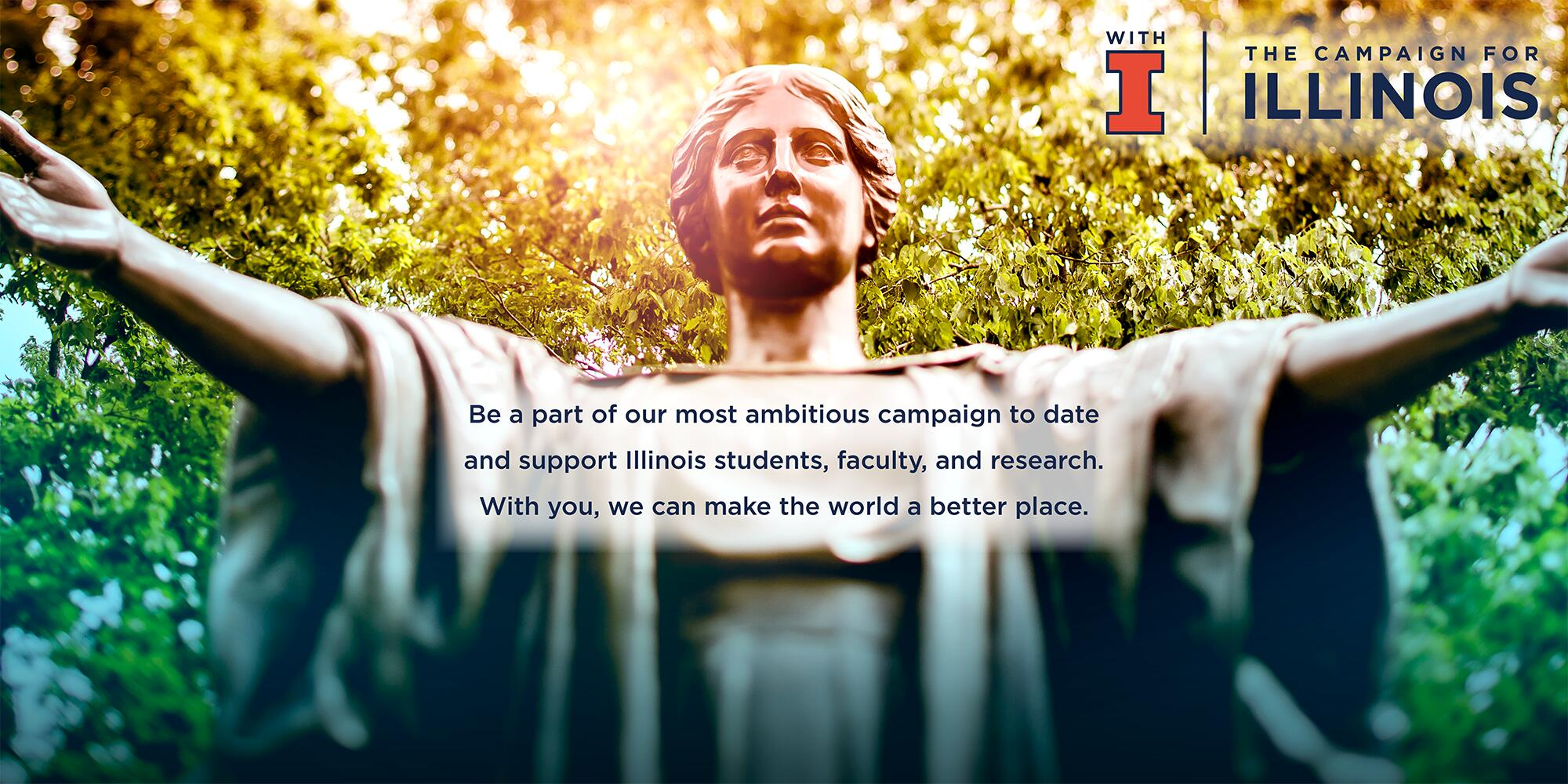 Alma Mater - With Illinois Campaign