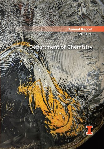 2019-20 Chemistry Annual Report cover