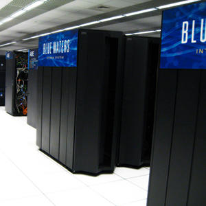 Blue Waters supercomputer at NCSA - University of Illinois