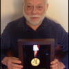 Bill Pittman with 75 year award for living with Type 1 diabetes