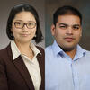Mei Shen and Angad Mehta headshots