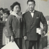 Picture of Eunice S. Wu and her father, Jasen Su